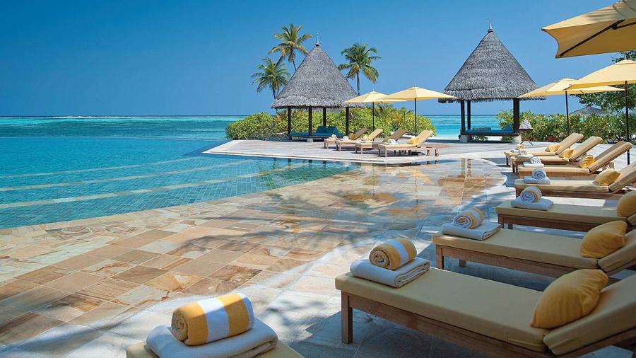 马尔代夫四季岛图片