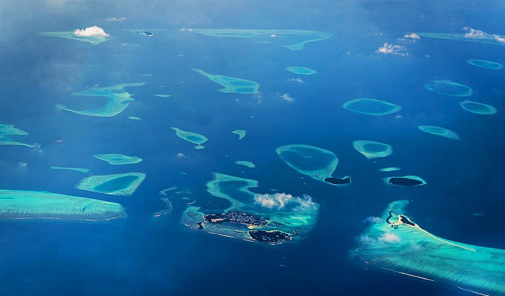 马尔代夫位置图