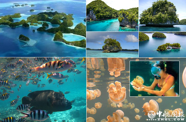 帕劳群岛美丽风光