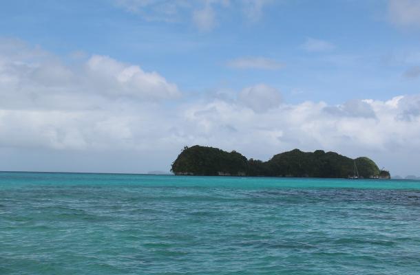 帕劳群岛珊瑚礁