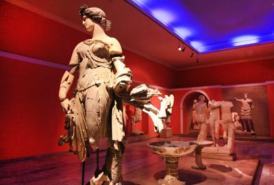 土耳其12天全景游:土耳其安塔利亚考古博物馆