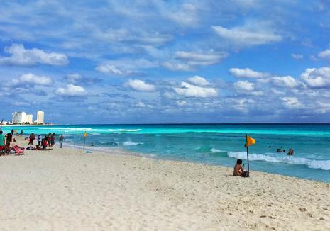 墨西哥坎昆海滩