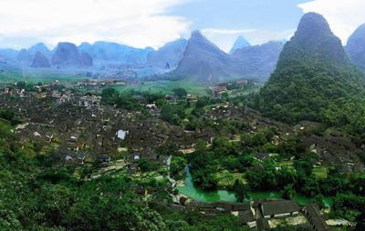 桂林3天游景点_广西贺州黄姚古镇