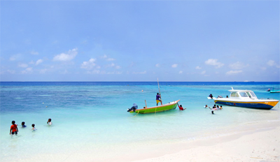 马尔代夫马富士岛6天游_马尔代夫马富士岛(居民岛)海边游玩