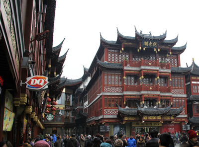 华东六日游_上海城隍庙商城