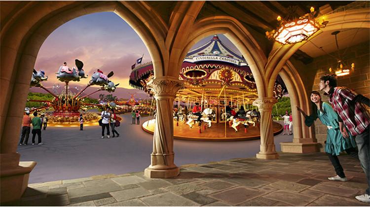 香港迪士尼幻想世界