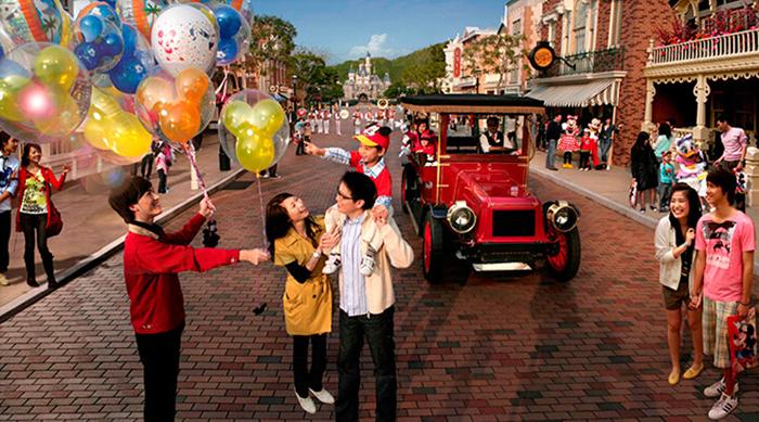 香港迪士尼美国大街小镇